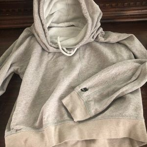 Nike bunched neck hoodie